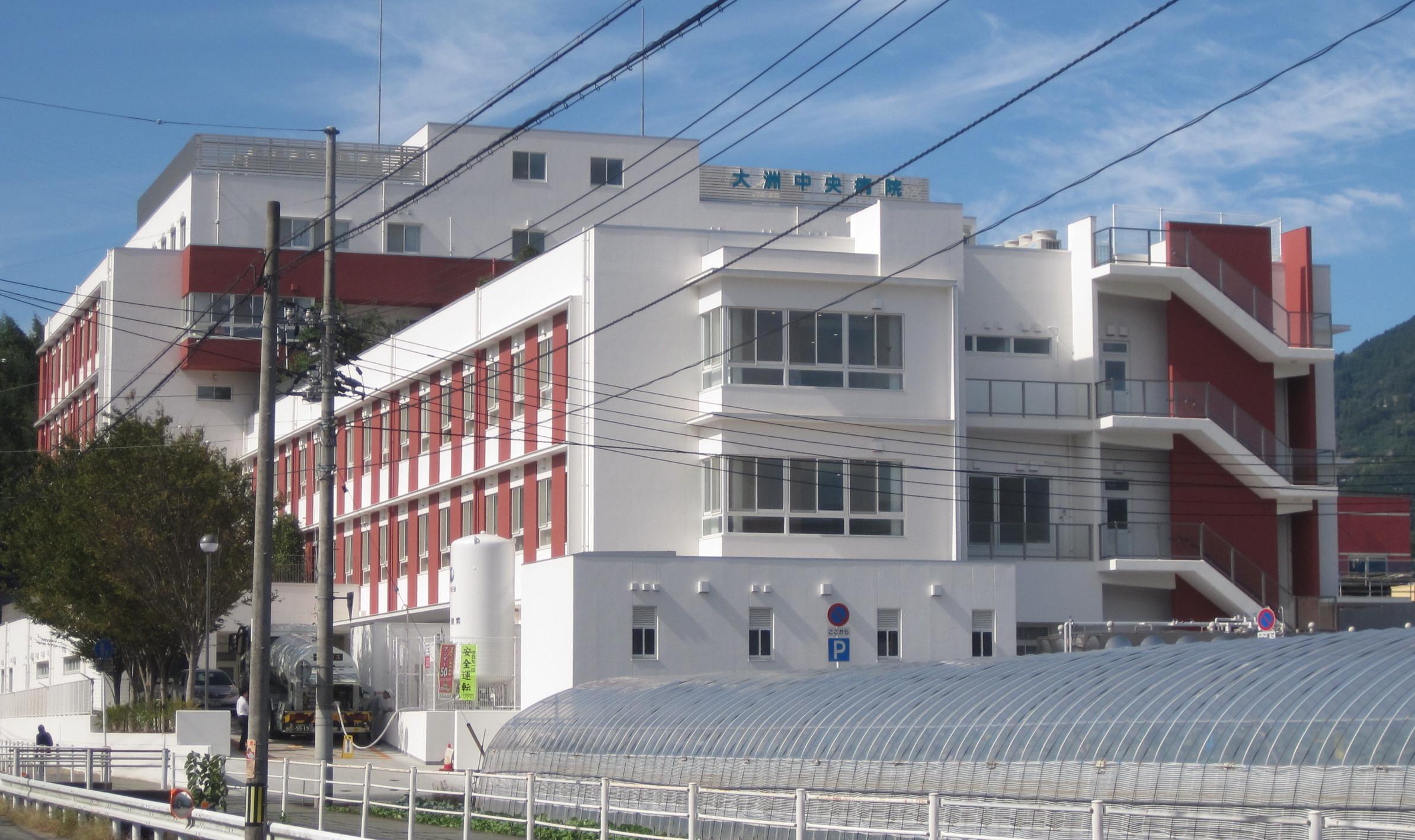 外断熱工事施工・大洲中央病院